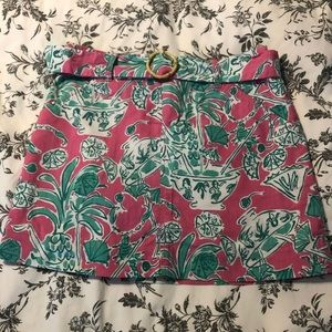 Lilly Pulitzer scorpion bowl skirt original